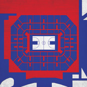 Kansas Jayhawks - Allen Fieldhouse City Print