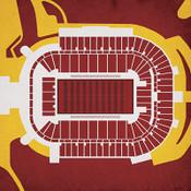 Arizona State Sun Devils - Sun Devil Stadium City Print