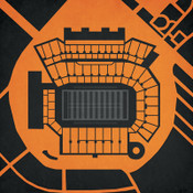 Oregon State Beavers - Reser Stadium City Print