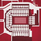 Oklahoma Sooners - Memorial Stadium City Print