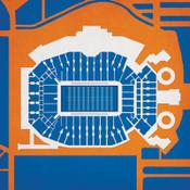 Florida Gators - Ben Hill Griffin Stadium City Print