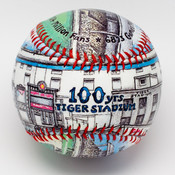 Tiger Stadium 100 Year Anniversary Baseball