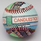 Candlestick Park Stadium Baseball