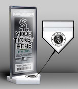 Chicago White Sox My First Game Ticket Display Stand