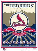 St. Louis Cardinals Handmade LE Screen Print