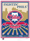 Philadelphia Phillies Handmade LE Screen Print