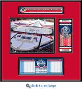 2015 NHL Winter Classic Ticket Frame Jr - Blackhawks vs Capitals
