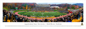 Appalachain State Mountaineers at Kidd Brewer Stadium Panorama Poster