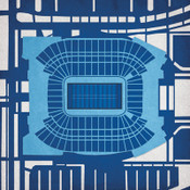 Nissan Stadium - Tennessee Titans City Print