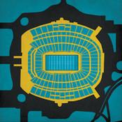 EverBank Field - Jacksonville Jaguars City Print
