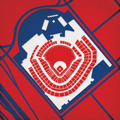 Turner Field - Atlanta Braves City Print