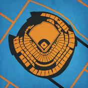 Marlins Park - Miami Marlins City Print