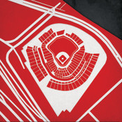 Great American Ball Park - Cincinnati Reds City Print