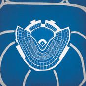 Dodger Stadium - Los Angeles Dodgers City Print