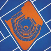 Citi Field - New York Mets City Print