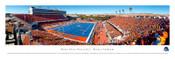 """EndZone"" Boise State Broncos at Bronco Stadium Panorama Poster"