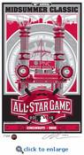 2015 MLB All-Star Game Sports Propaganda Handmade LE Serigraph