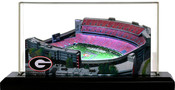 Georgia Bulldogs/Sanford Stadium 3D Stadium Replica