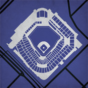 Coors Field - Colorado Rockies City Print