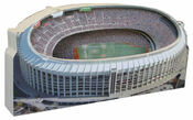 Veterans Stadium Philadelphia Phillies 3D Ballpark Replica