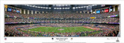 """Super Bowl XXLVII"" Baltimore Ravens Panoramic Poster"