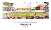 """Baselines"" Yankee Stadium Poster"
