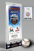 First Game at Marlins Park Mini-Mega Ticket - Miami Marlins