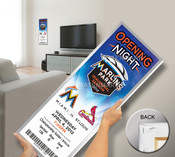 First Game at Marlins Park Mega Ticket - Miami Marlins