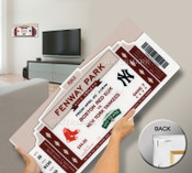Fenway Park 100th Anniversary Game Mega Ticket - Boston Red Sox