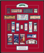 Fenway Park 100th Anniversary Tickets To History Framed Print