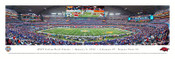 2012 Cotton Bowl Panoramic Poster - Arkansas vs. Kansas State