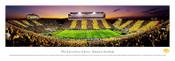 Iowa Hawkeyes at Kinnick Stadium Panoramic Poster