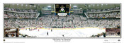 """""""2009 Stanley Cup Champion"""" Pittsburgh Penguins Panoramic Poster"""