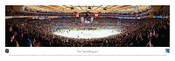 New York Rangers at Madison Square Garden Panoramic Poster