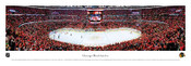 Chicago Blackhawks at the United Center Panoramic Poster