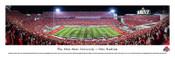 Ohio State Buckeyes 50 Yard Line at Ohio Stadium Panorama Poster
