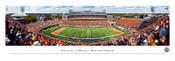Illinois Fighting Illini at Memorial Stadium Panoramic Poster