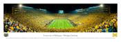 First Night Game at Michigan Stadium Panoramic Poster