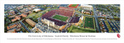 Oklahoma Sooners at Memorial Stadium Aerial Panoramic Poster