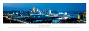 Great American Ball Park, Cincinnati Skyline Panorama Poster