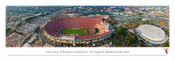 USC Trojans at Los Angeles Coliseum Panorama Poster