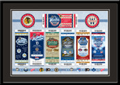 2015 NHL Winter Classic Tickets to History Framed Print