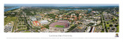 LSU Tigers At Tiger Stadium Aerial Panorama Poster