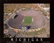 Michigan Stadium Aerial Poster
