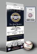 First Game at New Yankee Stadium (2009) Mini-Mega Ticket - New Y