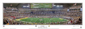 """""""1st & 10"""" Super Bowl XLV Green Bay Packers Panoramic Poster"""