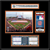 2010 World Series AT&T Park - Giants Ticket Frame