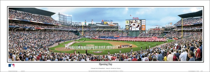 huge discount badce bf01e Turner Field Posters, Atlanta Braves Merchandise, Replicas ...