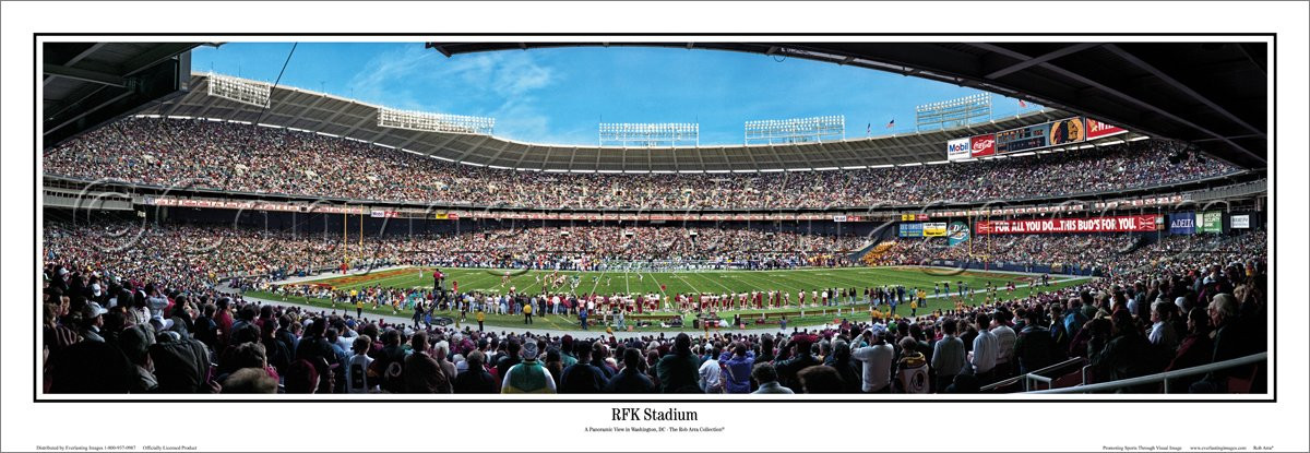 Rfk Stadium History Photos More Of The Former Nfl Stadium Of The Washington Redskins