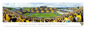 """50 Yard Line"" West Virginia Mountaineers at Mountaineer Field Panorama Poster"